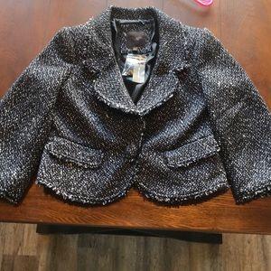 The Limited NWT tweed blazer